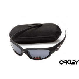 d38945b3588 cheap Oakley straight jacket sunglass matte black and grey